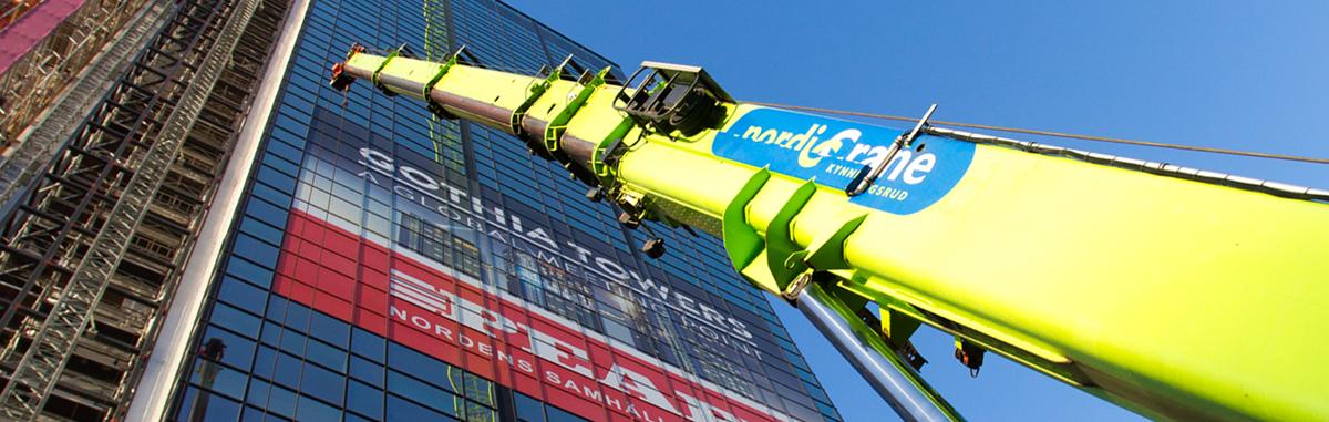 Kynningsrud och Stangeland delar Nordic Crane Group AS