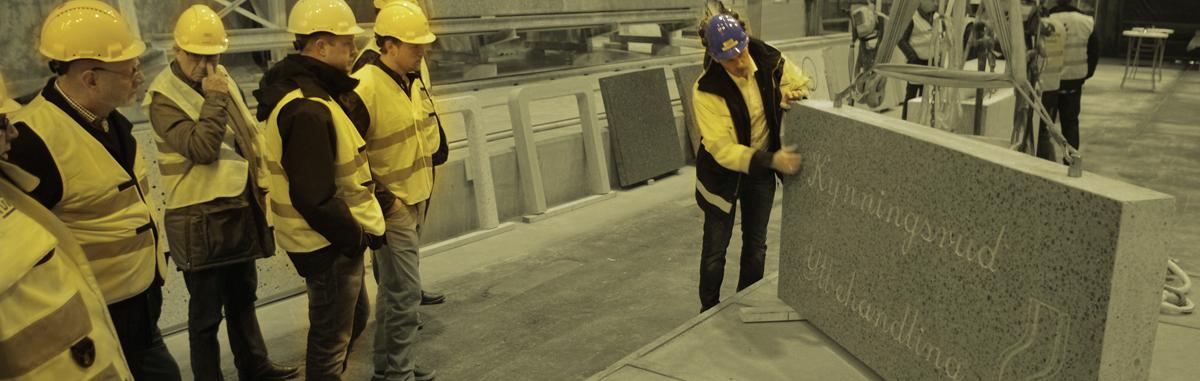 Lyckad fabriksvisning i Uddevalla