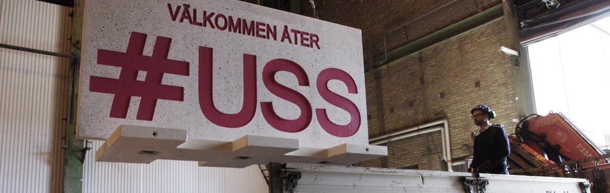 Samarbetar med # USS