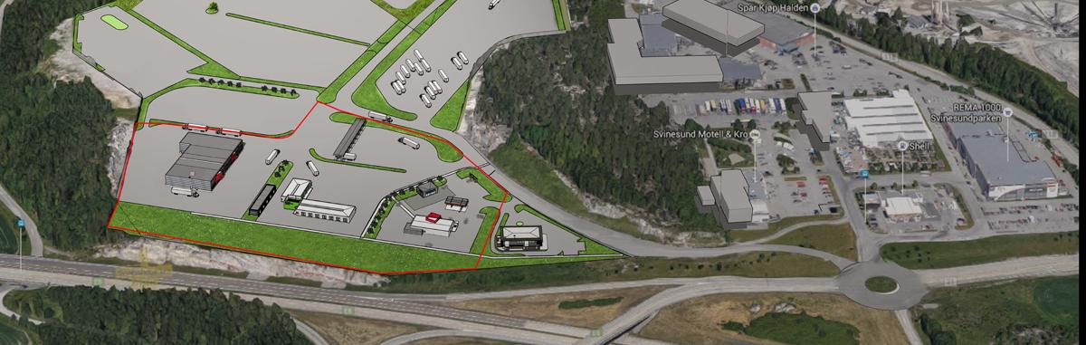 Selger Svinesund Transportsenter