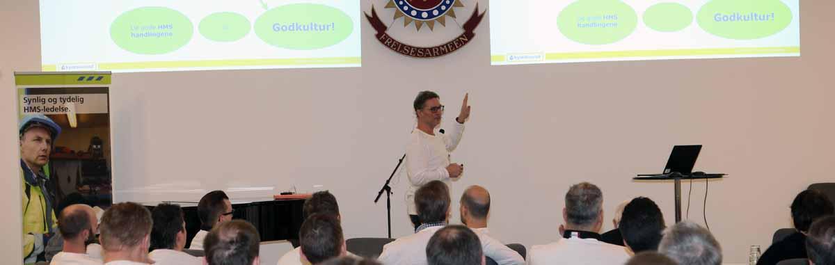 Säkerhet och värdegrunder i fokus på HMS-seminariet