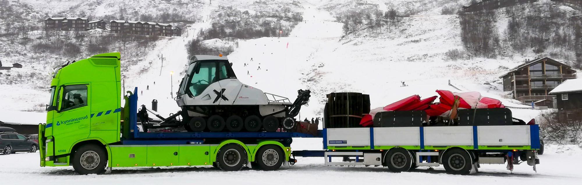 Kynningsrud Nordic Crane sikrer gode løypeforhold