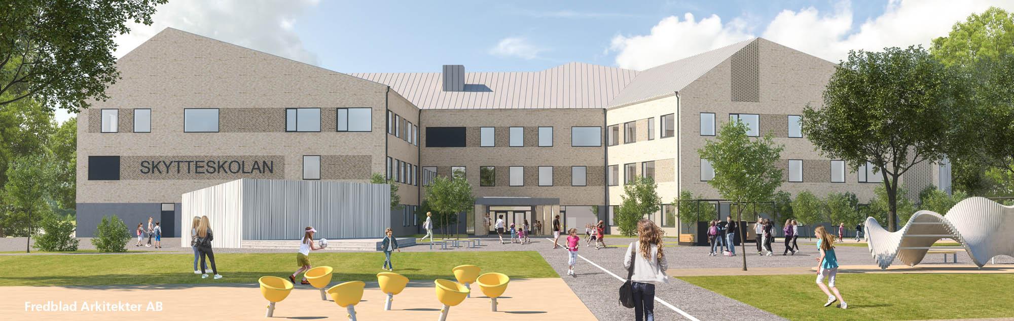 Prefab tillverkar betongstommar till fyra skolor