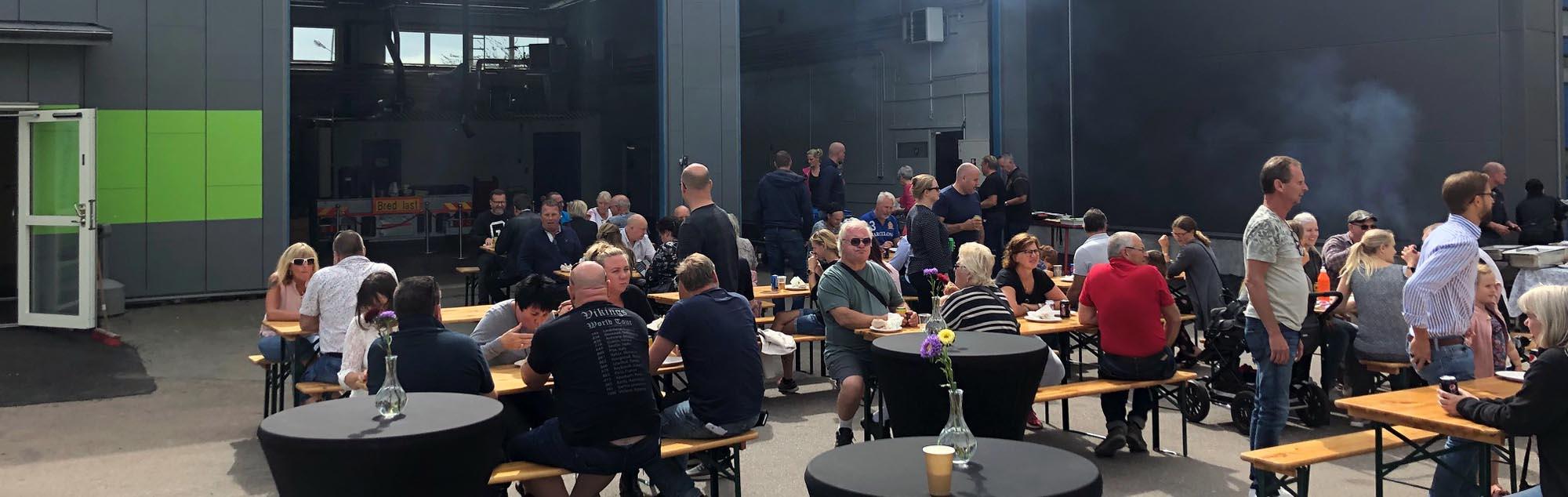 Öppet hus och invigning i Göteborg