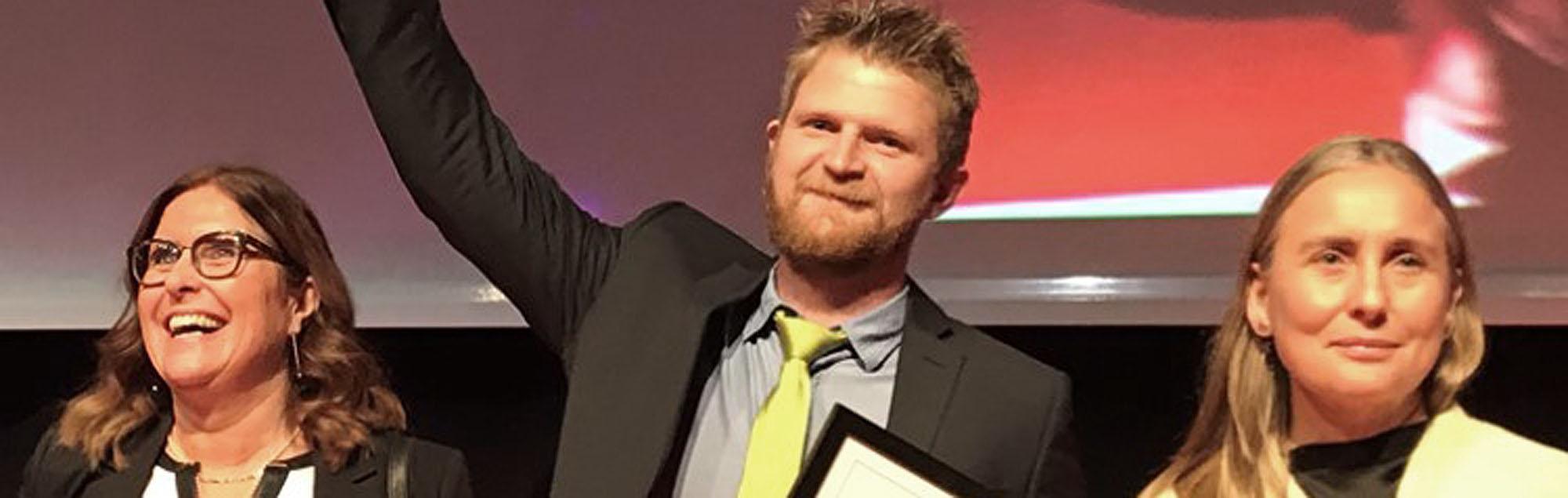 Andreas Hesselroth är Årets Montageledare!