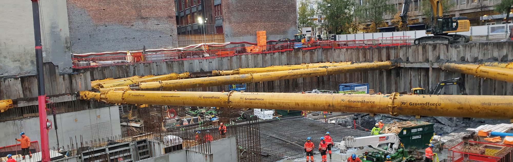 Grundläggning uppgraderar Oslo centrum