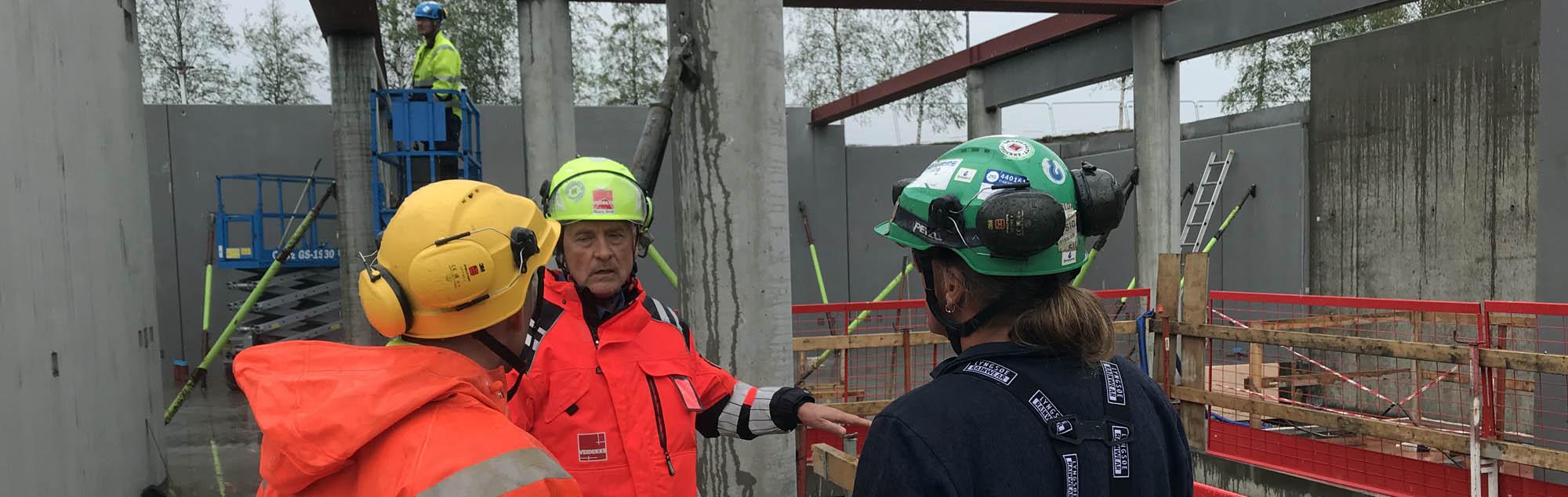 Samarbete för säkerhet inom byggnad och konstruktion