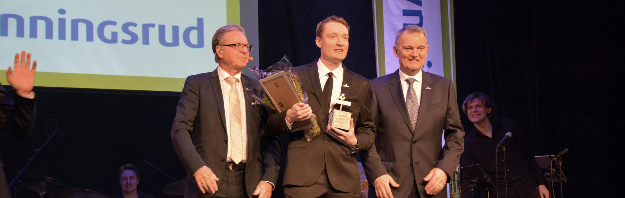 HMS-priset Prefab 2019 till Daniel Philipps