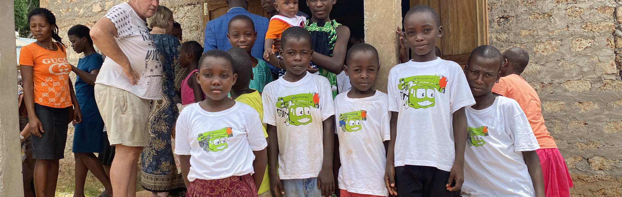 Barnbyen i Kenya invigdes