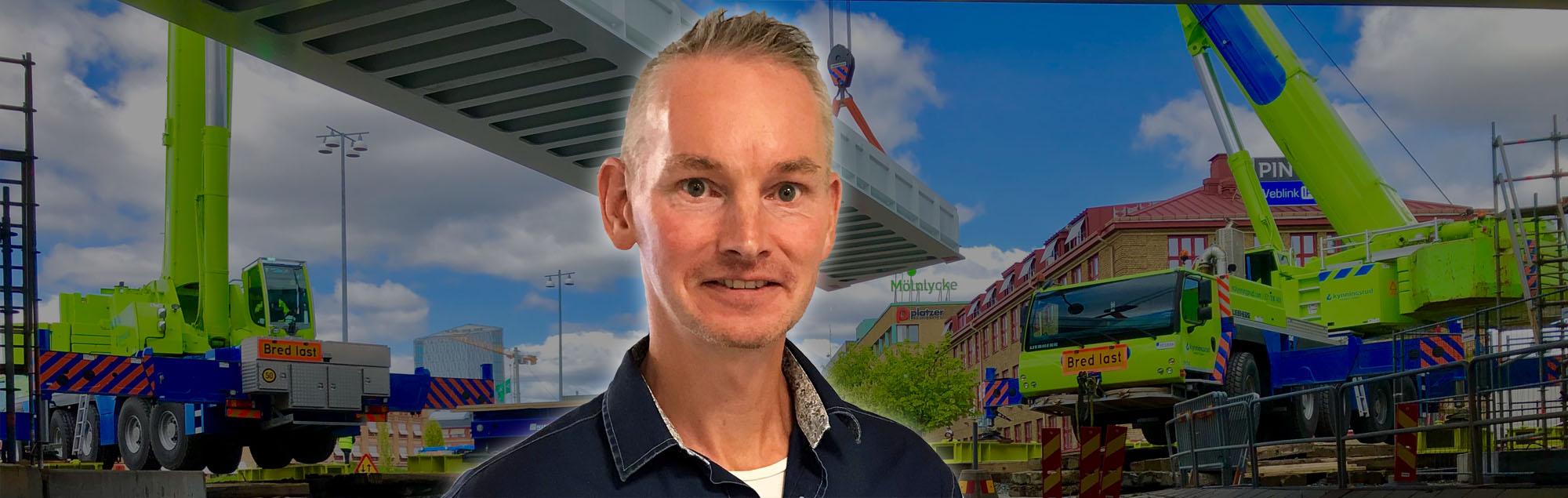Ny säkerhetschef på Kynningsrud Nordic Crane AB