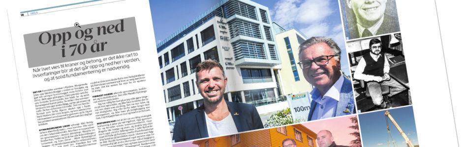 Halden Arbeiderblad: Opp og ned i 70 år