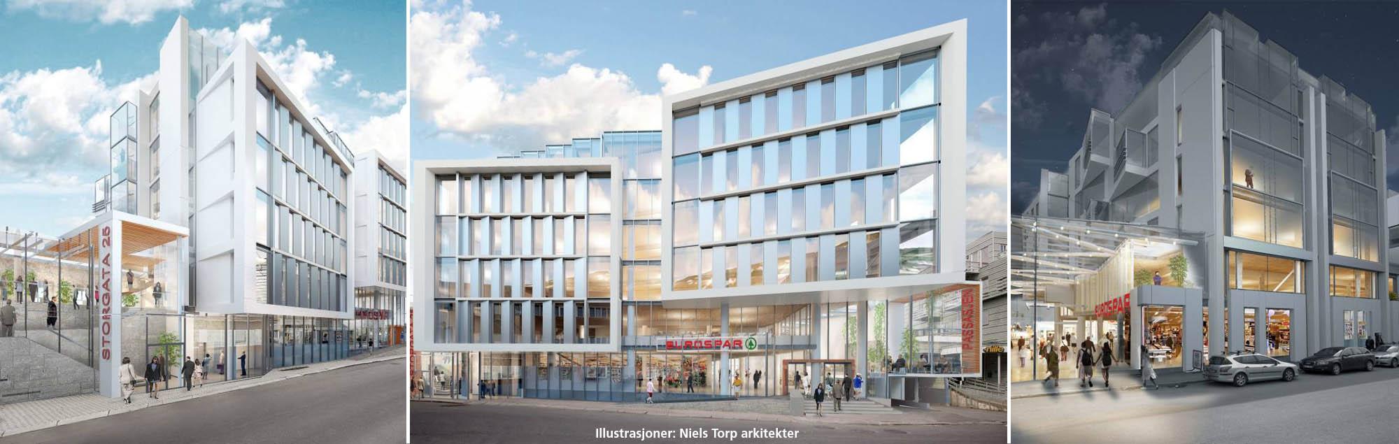 Fundamentering sikrer grunnen for forretningsbygg i Tromsø