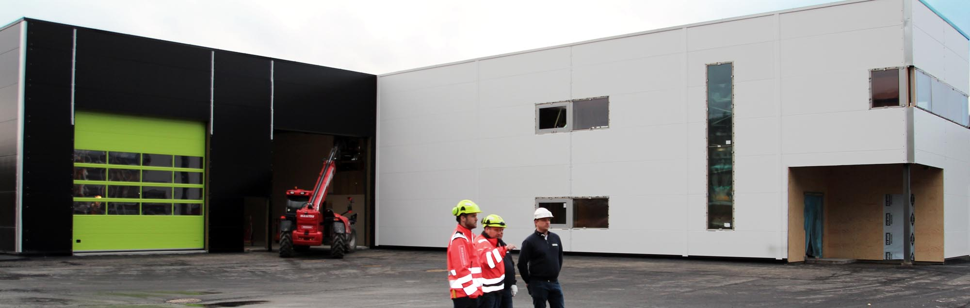 Nytt bygg på Lillehammer er ferdigstilt av Kynningsrud Eiendom