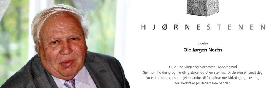 Vi minns Ole Jørgen Norén