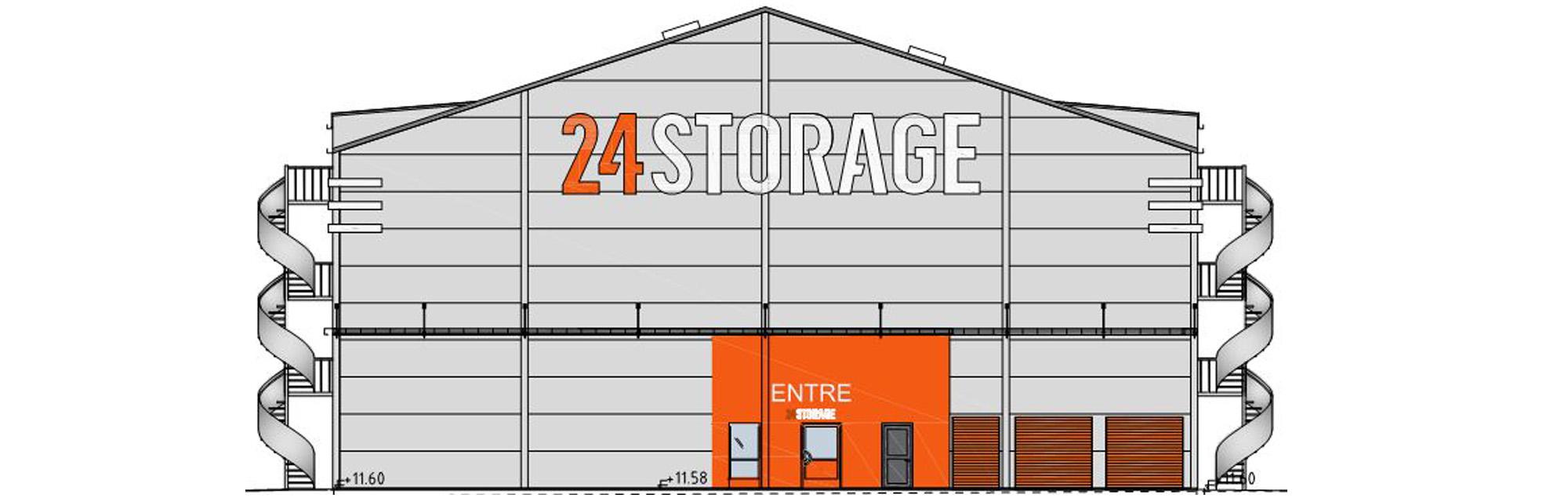 Kynningsrud Bygg totalentreprenör för 24Storage