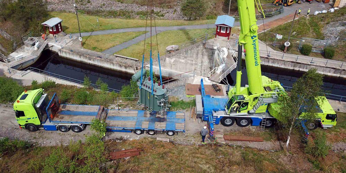 Kynnignsrud Nordic Crane satser i Vestfold og Telemark