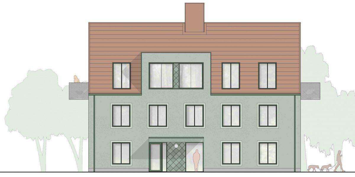Bostäder bygger bostadsrätter i Parkstaden, Borås