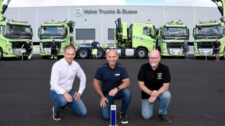 Kranbilar för 25 mill kronor till Kynningsrud Nordic Crane