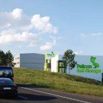 Bygger för Pelican Storage i Upplands Väsby